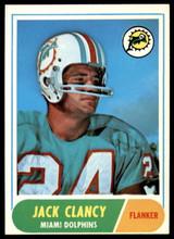 1968 Topps #14 Jack Clancy Near Mint  ID: 218832