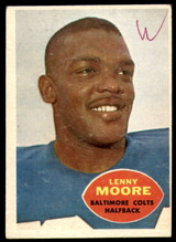 1960 Topps #3 Lenny Moore Poor  ID: 244232