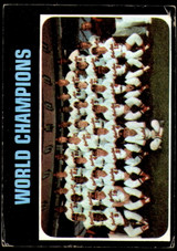 1971 Topps #1 World Champions Orioles G-VG  ID: 193057