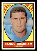 1967 Topps #57 Danny Brabham Very Good  ID: 273301