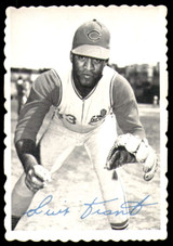 1969 Topps Deckle Edge #7 Luis Tiant Very Good  ID: 264860