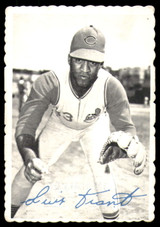 1969 Topps Deckle Edge #7 Luis Tiant Very Good  ID: 264863