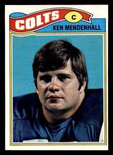 1977 Topps #13 Ken Mendenhall NM-Mint