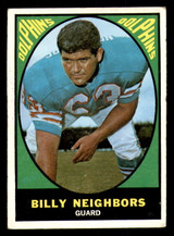 1967 Topps #84 Bill Neighbors Very Good