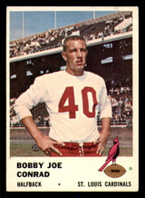 1961 Fleer #22 Bobby Joe Conrad Writing on Back