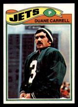 1977 Topps #34 Duane Carrell Near Mint+