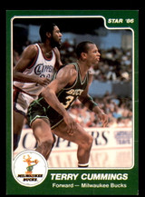 1985-86 Star #124 Terry Cummings Very Good