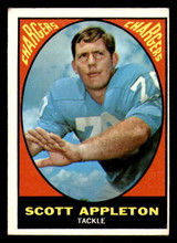 1967 Topps #118 Scott Appleton Very Good