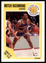 1989-90 Fleer #56 Mitch Richmond NM-Mint RC Rookie  ID: 192769