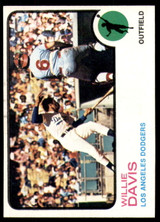 1973 Topps #35 Willie Davis Near Mint  ID: 208194