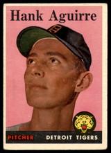 1958 Topps #337 Hank Aguirre EX Excellent