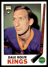 1969-70 Topps #100 Dale Rolfe NM-Mint