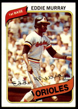 1980 Topps #160 Eddie Murray Ex-Mint  ID: 188244