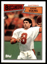 1987 Topps #384 Steve Young Near Mint+  ID: 187570
