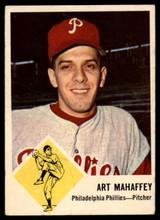 1963 Fleer #54 Art Mahaffey G/VG Good/Very Good