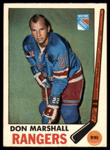1969-70 O-Pee-Chee #39 Don Marshall Excellent+