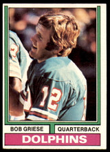 1974 Topps #200 Bob Griese Excellent+