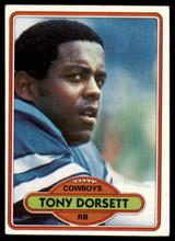 1980 Topps #330 Tony Dorsett Excellent+  ID: 178996