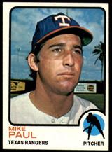 1973 Topps #58 Mike Paul Near Mint