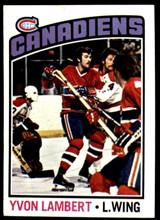 1976-77 Topps #232 Yvon Lambert NM