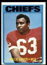 1972 Topps #35 Willie Lanier Ex-Mint  ID: 131845