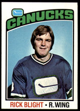 1976-77 Topps #238 Rick Blight NM RC Rookie