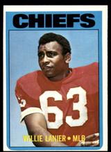 1972 Topps #35 Willie Lanier Ex-Mint  ID: 131847