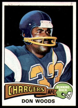 1975 Topps #10 Don Woods Near Mint or Better  ID: 208542