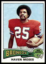 1975 Topps #17 Haven Moses Near Mint or Better  ID: 208556
