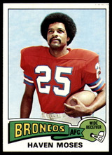1975 Topps #17 Haven Moses Near Mint or Better  ID: 208558