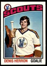 1976-77 Topps #55 Denis Herron NM