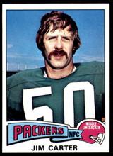 1975 Topps #19 Jim Carter Near Mint or Better  ID: 208563