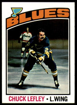 1976-77 Topps #63 Chuck Lefley NM