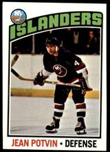 1976-77 Topps #93 Jean Potvin NM