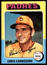 1975 Topps Mini #355 Chris Cannizzaro Ex-Mint