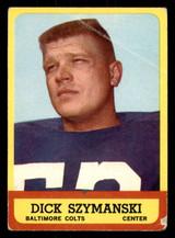 1963 Topps #7 Dick Szymanski G-VG RC Rookie