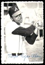 1969 Topps Deckle Edge #17 Felipe Alou Very Good  ID: 264902