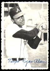 1969 Topps Deckle Edge #17 Felipe Alou Very Good  ID: 264904