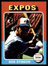 1975 Topps Mini #471 Bob Stinson Ex-Mint