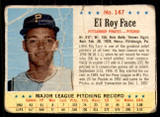 1963 Post Cereal #147 Roy Face Poor