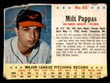 1963 Post Cereal #65 Milt Pappas Poor