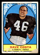 1967 Topps #33 Dave Costa Poor