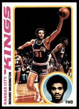 1978-79 Topps #121 Richard Washington Near Mint+