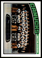 1976-77 Topps #148 Vancouver Canucks CL Marked