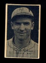 1931 W517 Mini Strip Card #12 Travis Jackson EX NY Giants