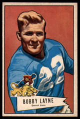 1952 Bowman Large #78 Bobby Layne NM