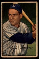 1952 Bowman #1 Yogi Berra VG Very Good