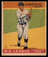 1934 Goudey V354 World Wide Gum #33 Floyd Scott EX/NM