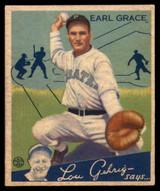 1934 Goudey #58 Earl Grace EX/NM RC Rookie