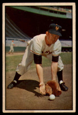 1953 Bowman Color #1 Davey Williams EX